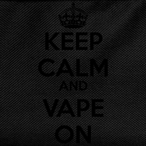 Keep Calm And Vape On 1 T-Shirts - Kinder Rucksack