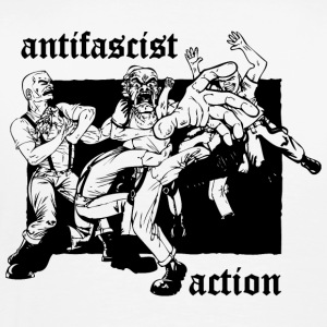 Antifascist Action - Männer Premium T-Shirt