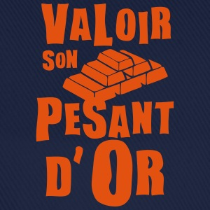 valoir pesant or expression Tee shirts - Casquette classique