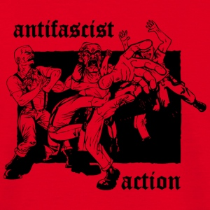 Antifascist Action Beutel - Männer T-Shirt
