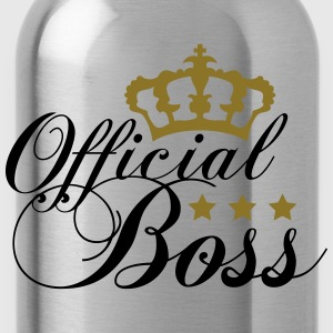 Officiell Kung Boss Design T-shirts - Vattenflaska