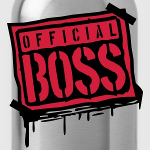 Officiell stämpel Boss Graffiti Design T-shirts - Vattenflaska