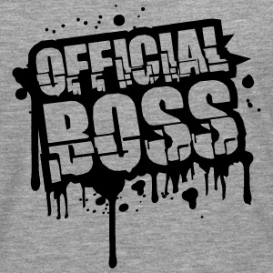 Official Boss Graffiti Stamp T-Shirts - Männer Premium Langarmshirt