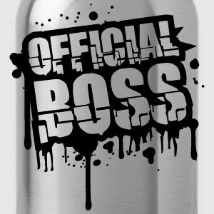 Officiell Graffiti stämpel Boss T-shirts - Vattenflaska