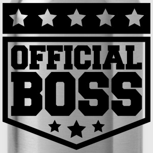Officiella Boss Design T-shirts - Vattenflaska