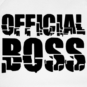 officiel Boss T-shirts - Baseballkasket