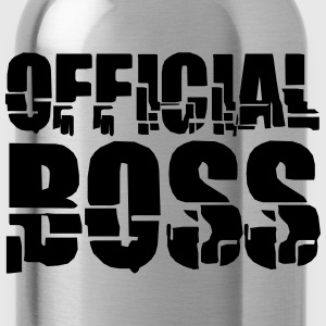 officiell Boss T-shirts - Vattenflaska