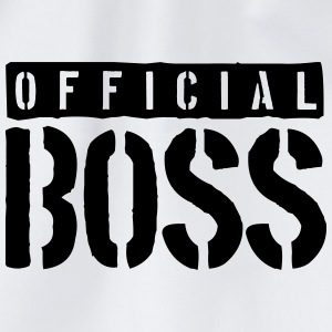 Logo Design Official Boss T-Shirts - Turnbeutel