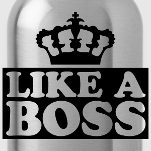 Like A Boss kung Design T-shirts - Vattenflaska