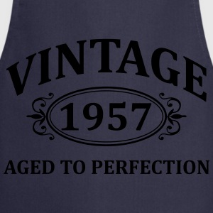 Vintage 1957 Aged to Perfection T-Shirts - Cooking Apron