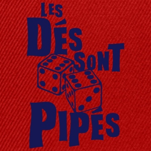 des pipes jeu lance expression Tee shirts - Casquette snapback