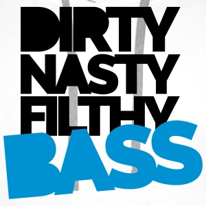 Dirty Bass T-skjorter - Premium hettegenser for menn