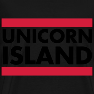 Unicorn Island Sweat-shirts - T-shirt Premium Homme
