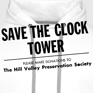 SAVE THE CLOCK TOWER T-Shirts - Men's Premium Hoodie