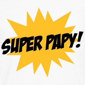 Super Papy ! Tee shirts - T-shirt manches longues Premium Homme