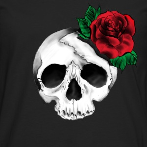 Pretty Skull Tattoo Tee shirts - T-shirt manches longues Premium Homme