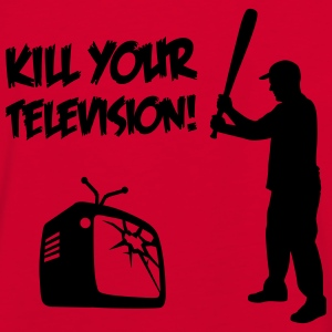 Kill Your Television - Against Media dumbing Vestes et gilets - T-shirt contraste Homme