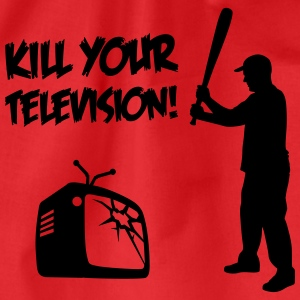 Kill Your Television - Against Media dumbing Tee shirts - Sac de sport léger