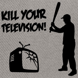 Kill Your Television - Against Media dumbing T-Shirts - Snapback Cap