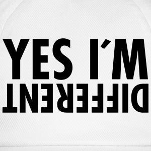 Yes I´m Different T-shirts - Baseballcap