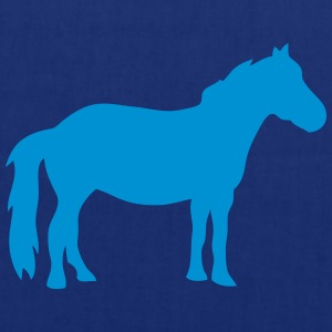 cheval silhouette 1206 Tee shirts - Tote Bag