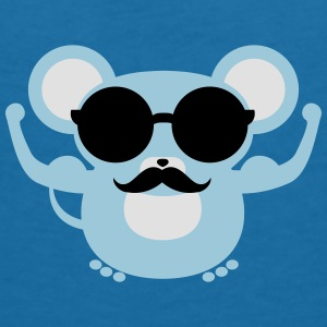 Hipster Mouse | Swag Shirt Accessories - Women's V-Neck T-Shirt