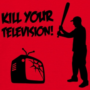 Kill Your Television - mot Media dumbing  Flaskor & muggar - T-shirt herr