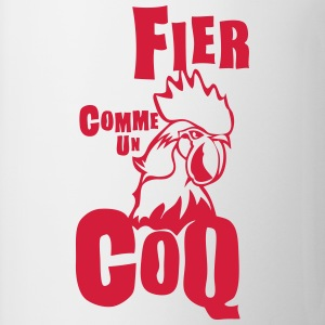 fier comme coq expression Tee shirts - Tasse
