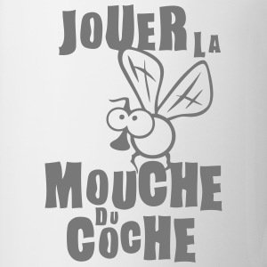 jouer mouche coche expression Tee shirts - Tasse