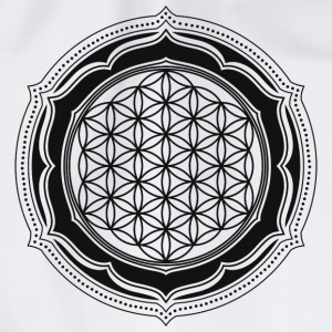 Flower of Life, Energy Symbol, Sacred Geometry Magliette - Sacca sportiva