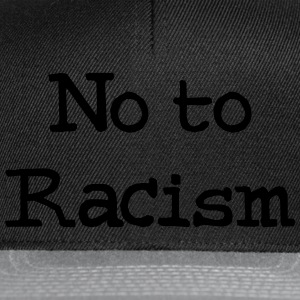 No To Racism T-shirts - Snapbackkeps