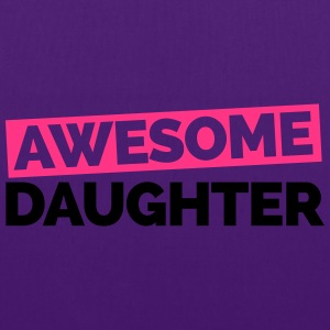 Awesome Daughter  Sweaters - Tas van stof