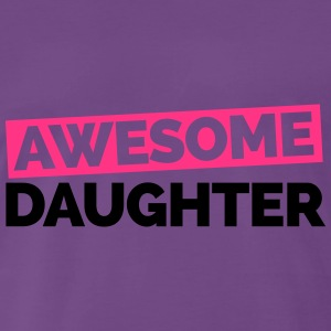 Awesome Daughter  Sweaters - Mannen Premium T-shirt