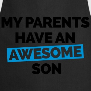 Parents Have An Awesome Son  Sweaters - Keukenschort