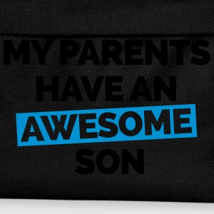 Parents Have An Awesome Son  Hoodies & Sweatshirts - Kids' Backpack