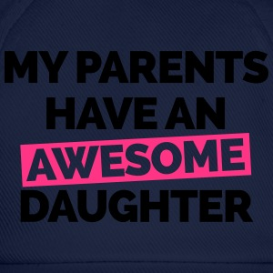 Parents Have An Awesome Daughter  Sweaters - Baseballcap