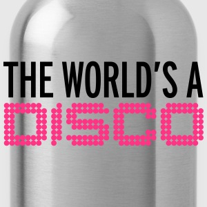 The World's A Disco Hoodies & Sweatshirts - Water Bottle