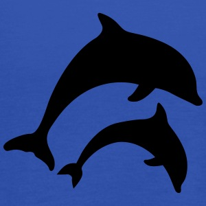 dolphins Shirts - Women's Tank Top by Bella