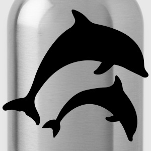 dolphins Shirts - Water Bottle