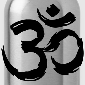 Om Sign Pinselstrich Pullover & Hoodies - Trinkflasche