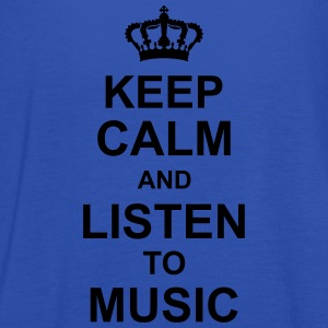 keep_calm_and_listen_to_music_g1 Koszulki - Tank top damski Bella