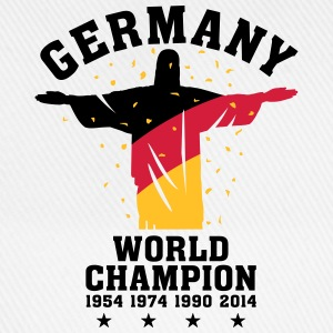 GERMANY WORLD CHAMPION 1954,1974,1990,2014 Tops - Baseballkappe