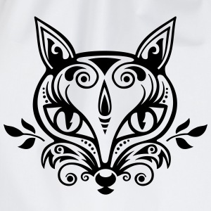 Zorro What does the fox say? bosque regalo verano Camisetas - Mochila saco