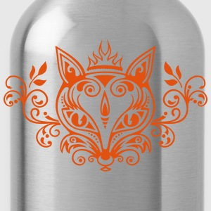 Fuchs Wald Frühling Sommer What does the fox say? - Trinkflasche