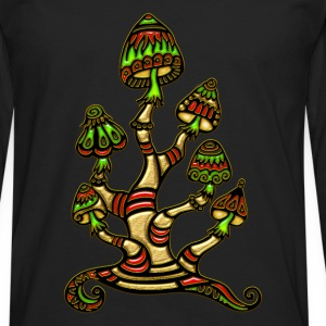 Magic mushrooms, psychedelische Pilze, Wunderland Tee shirts - T-shirt manches longues Premium Homme