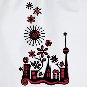 Guerilla Gardening!, c, Auf die Plätze - Saatbombe los! Let's fight the filth with forks and flowers! T-Shirts - Turnbeutel