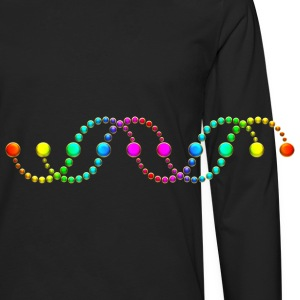 DNA helix crop circle serpent rainbow frequency Bags & backpacks - Men's Premium Longsleeve Shirt