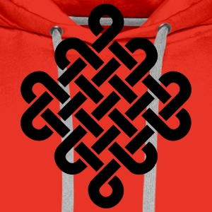 Infinity Buddhism Tibetan endless knot Celtic Other - Men's Premium Hoodie
