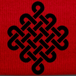 Infinity Buddhism Tibetan endless knot Celtic Altro - Cappellino invernale