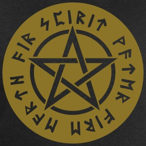 Pentagram star element rune paganism witchcraft Bags & Backpacks - Men's Sweatshirt by Stanley & Stella